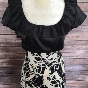 Roulette Dresses - 🌲New Year eve dress black & white Xl